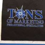 Custom Ton's of Marketing Embroidery